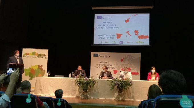 CLAUSURA DO PROGRAMA EUROPEO ERASMUS+ PANHERA